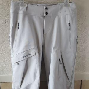 Patagonia Women's Grey snow pants Size Medium